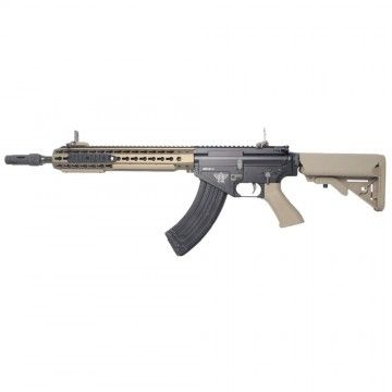Fusil eléctrico BR47 KEYMOD QDC TAN Recoil Shock System de Bolt