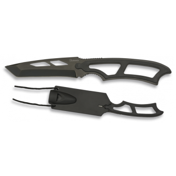 Cuchillo táctico tipo colgante de 17.4 cm.
