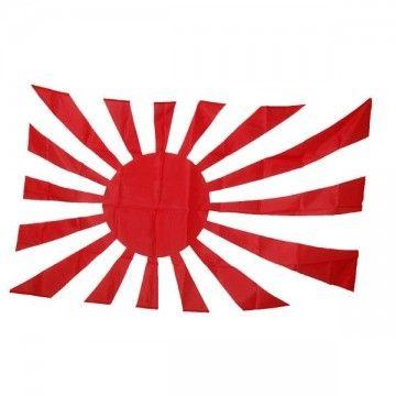 Bandera de Japón Sol Naciente.