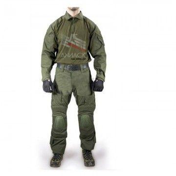 Uniforme de combate Delta Tactics en color OD