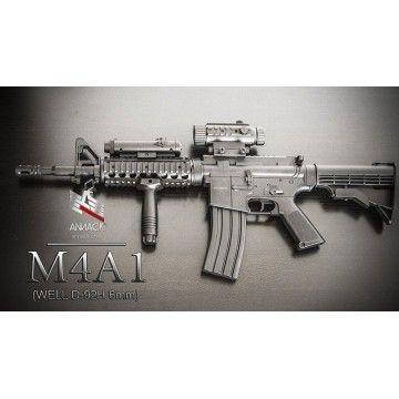 Fusil électrique pour réplique airsoft M4A1 modèle. Mark Well