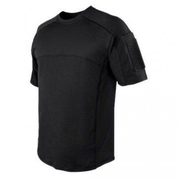 Camiseta técnica Trident Battle en negro de Condor.