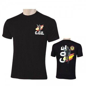 Camiseta COE ESPAÑA en color negro