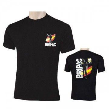 Camiseta BRIPAC ESPAÑA en color negro