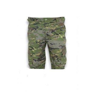 Pantalón corto M65 en boscoso pixelado de Barbaric