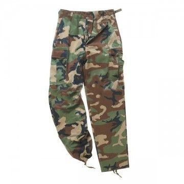 Pantalón largo M65 en camo de Mil-Tec