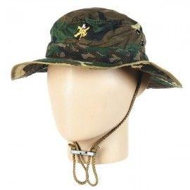 Chambergo militar de la Legión en camo boscoso