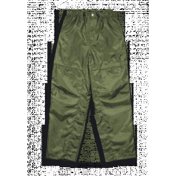Pantalones impermeables militares de color verde