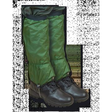 Polainas militares impermeables. Verde