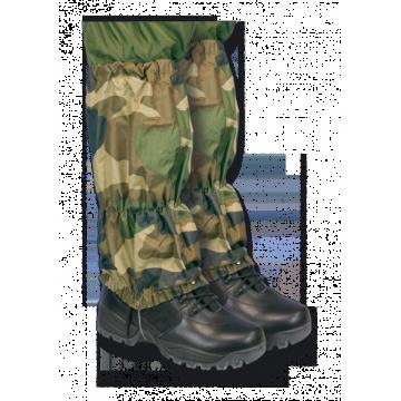 Polainas militares impermeables.Camuflaje