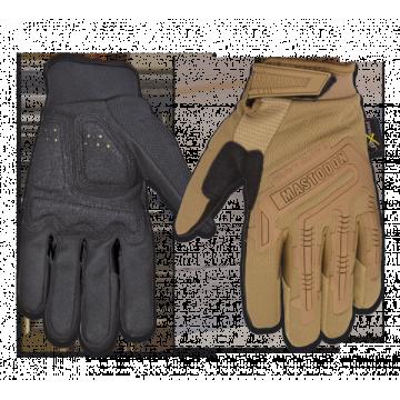 Guantes Tácticos, modelo Heavy Duty II. Marca Mastodon. Coyote