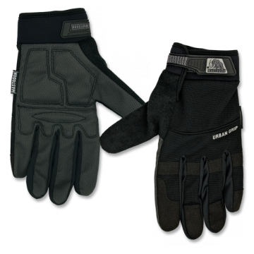 Tactical, model Urban Grip gloves. Mark Mastodon. Black.