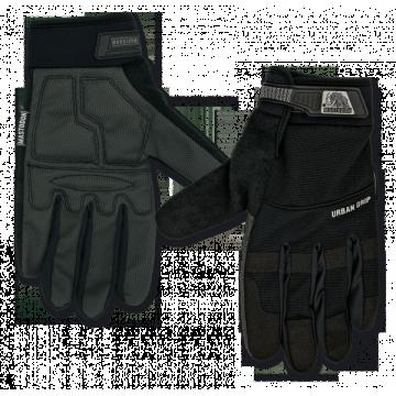 Guantes Tácticos, modelo Urban Grip. Marca Mastodon. Negro.