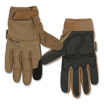 Tactical, model Urban Grip gloves. Mark Mastodon. Coyote.