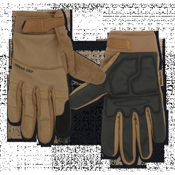 Tactical, model Urban Grip gloves. Mark Mastodon. Coyote.