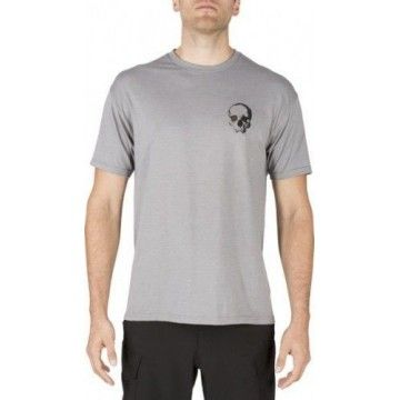 Camiseta Lancelot Tee en Grey Heather de 5.11 Tactical