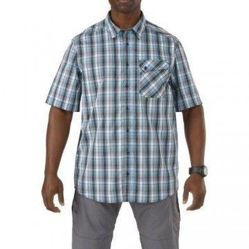 Camisa táctica Cover Single Flex en Azul Tarheel de 5.11 Tactical