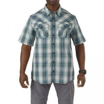 Camisa táctica Cover Double Flex en Silver Pine de 5.11 Tactical