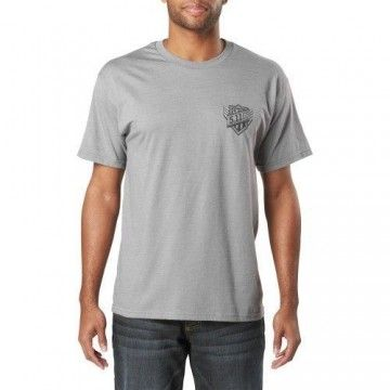Camiseta táctica Viper en Grey Heather de 5.11 Tactical