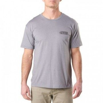 Camiseta táctica Dragon en Grey Heather de 5.11 Tactical