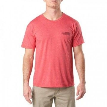 Camiseta táctica Dragon en Red Heather de 5.11 Tactical