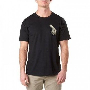 Camiseta Cold Dead Hands en Negro de 5.11 Tactical