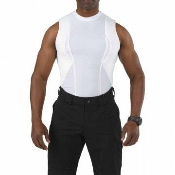 Camiseta de ocultación sin mangas en Blanco de 5.11 Tactical