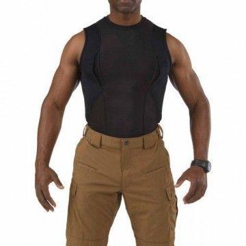 Camiseta de ocultación sin mangas en negro de 5.11 Tactical