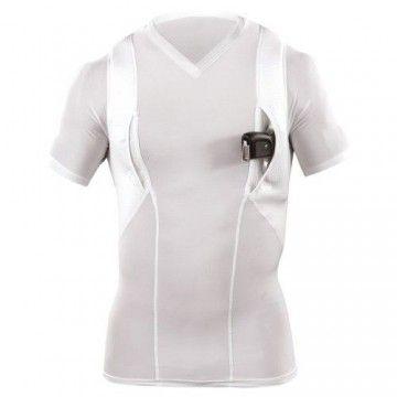 Camiseta de ocultación Manga corta en Blanco de 5.11 Tactical