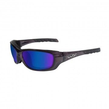 Gafas Gravity Blue Mirror en Black Crystal de Wiley X