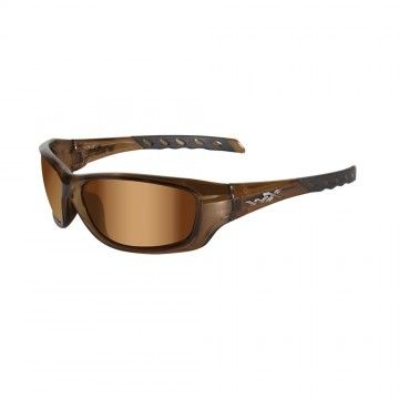 Gafas Gravity Bronze Flash en Brown Crystal de Wiley X