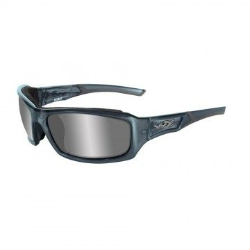 Gafas Echo Silver Flash en Smoke Steel Blue de Wiley X