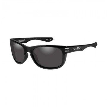 Gafas tácticas Hudson Smoke Grey en Negro de Wiley X