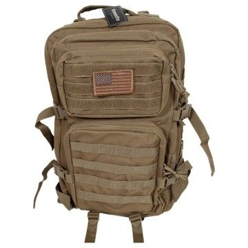 Mochila Assault Tactical de 40 L en Khaki de Dragonpro