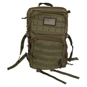 Mochila Assault Tactical de 40 L en Verde OD de Dragonpro