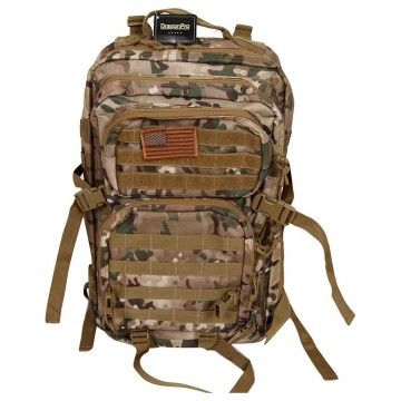 Mochila Assault Tactical de 40 L en Camuflaje Multicam de Dragonpro