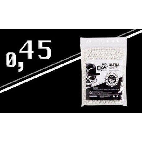Bolsa de 1000 RDS Bio BBS Ultra White 0.45 g de Duel Code