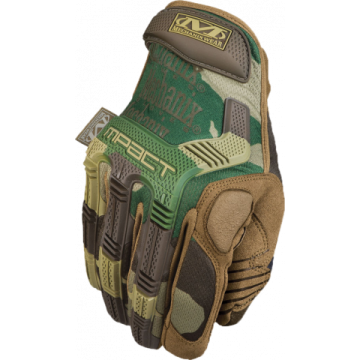 Gloves tactical, The M-Pack Glove model. Mechanix Wear marks. Camo.