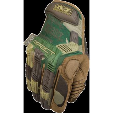 Guantes Tácticos, modelo The M-Pack Glove. Marca Mechanix Wear. Camo.