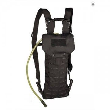 Color black 2.5 litre Camelbak backpack.