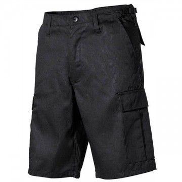 Pantalón corto M65 Negro modelo 6 bolsillos