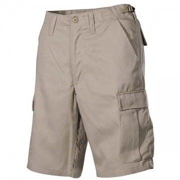 Pantalón corto M65 Beige modelo 6 bolsillos