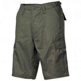 Pantalón corto M65 Verde modelo 6 bolsillos