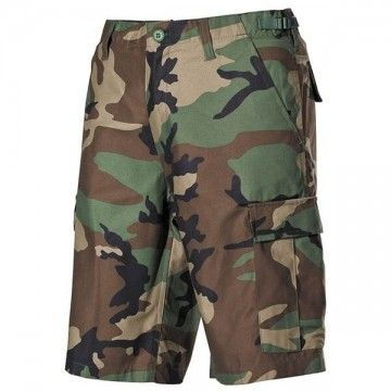 Top-Star shorts green camo.