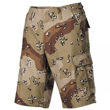 Pantalón corto M65 Desert modelo 6 bolsillos