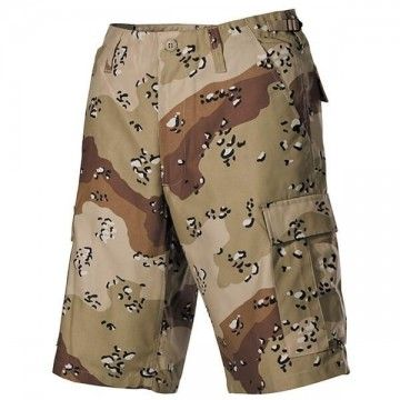 Top-Star shorts grün Camo.