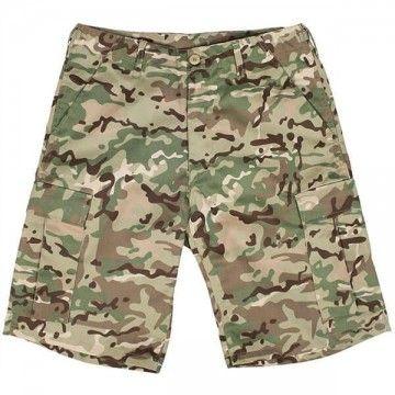 Pantalón corto M65 Multicam modelo 6 bolsillos
