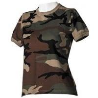 Camisetas militares mujer