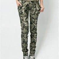 Pantalones militares de mujer