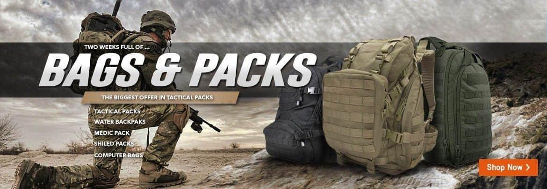 Promoción en mochilas